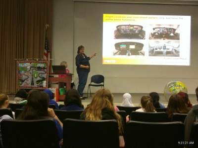 April 23, 2016 Dallas Girl Scout STEM program