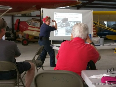 June 11, 2016- FW 99s hosted Mike Montefusco, FAASTeam seminar